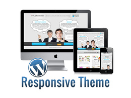 Develop/program responsive wordpress templates