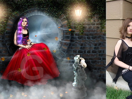Enhance, retouch / manipulate your photos professionally to look like a digital art