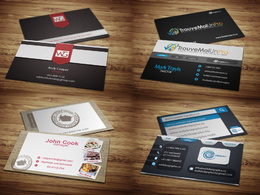 Design fresh & outstanding business cards