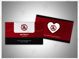Design your business card until you get satisfied with unlimited revisions