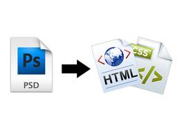 Convert PSD to HTML & CSS