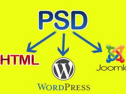 Convert PSD to HTML/CSS, tableless, standard compliant