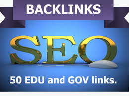Find and create 50 edu and gov links to your url or website