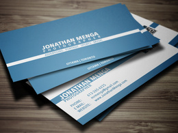 Design a sleek business card  and deliver it as a print ready file