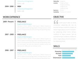 Design a stunning resume/CV