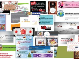 Create a shop banner for your online business