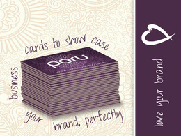 Create eye catching business cards