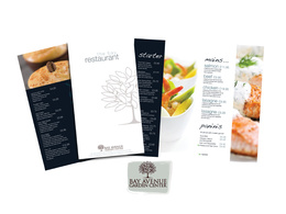 Design restaurant brand: Logo, Menu's, interior mood walls. A complete package!