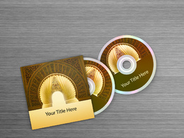 Design your book, CD or DVD cover
