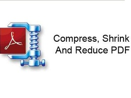 Reduce the size of pdf