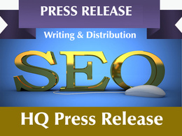 Write a high quality press release and submit it to top PR sites and PR syndication
