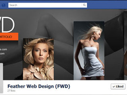 Design a creative facebook timeline cover