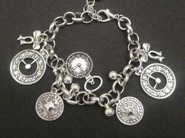 Make a timepiece charm bracelet