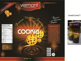 Design an effective packaging label and graphics