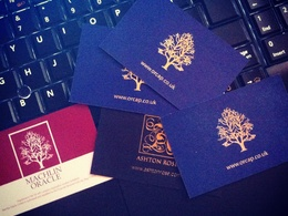 Provide you with a professional and stylish business card, print ready file