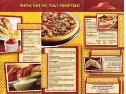 Create a high class restaurant menu