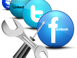 Manage all your Social Media Facebook, Twitter etc