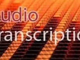 Transcribe your 1 hour audio into word `