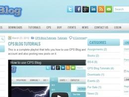 Make a wordpress blog / website