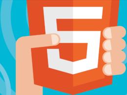 Design and develop a HTML5 website