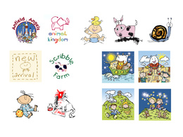 Produce children related illustrations