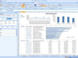 Produce an interactive Excel pivottable and/or dashboard based on any size of dataset