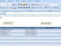 Design and develop a custom spreadsheet in excel