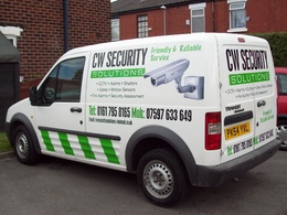 Design graphics for vinyl signs and vehicles