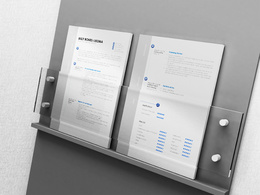Convert your old CV / resume into an eye-catching clean modern PDF