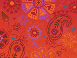 Create an original textile design and repeat it for your product