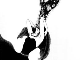 Create black and white illustrations