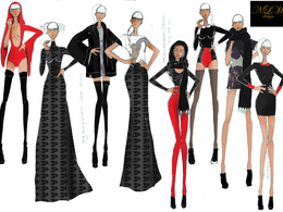 Provide you with a fashion illustrations
