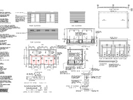 Draft 2D CAD plans/drawings