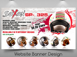 Design website banner / header