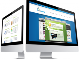 Create a home page for your website with innovative ideas
