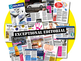 Design an 8 page brochure, magazine or newsletter