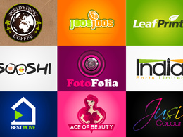 Design an exclusive logo with unlimited concepts, business card and favicon