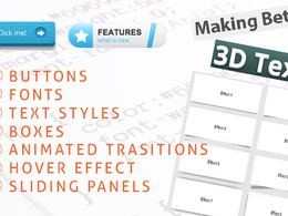 Restyle your website with modern CSS3/HTML5 styling elements