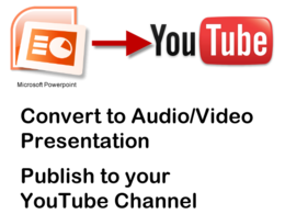 Convert your powerpoint presentation to Video/Audio presentation movie