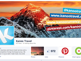 Design a Facebook and Twitter profile