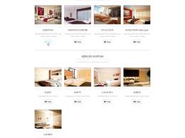 Design a bespoke 5-page PSD website