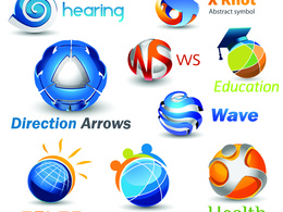 Design an awesome 3D logo with unlimited revisions