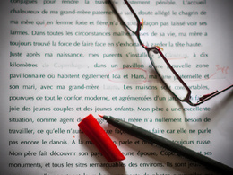 Proofread & edit any French text up to 1000 words