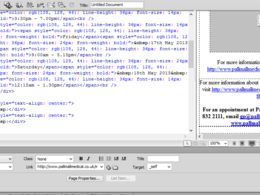 Convert your PSD/image to HTML