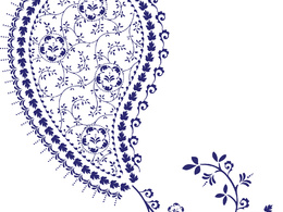 Design your very own paisley illustration for any occasion and in any size