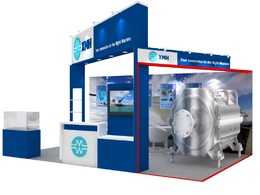 Provide a design concept for your exhibition stand