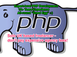 Perform 1 hour of PHP development