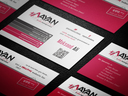 Design a clean, modern business card