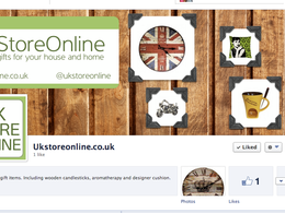 Set up a Facebook and Twitter account for your business using your branding