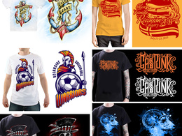 Create an awesome illustration for tshirt  design and merchandise